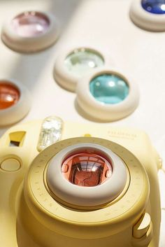 Objektivfilter-Set in verschiedenen Farben