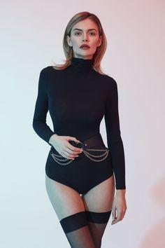 Women/'s Fashion Elasticity Waist Belt Corset Bodycon Wide Belt Zip Black JC