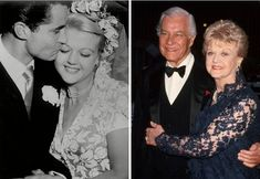Angela Lansbury & husband Peter Shaw...married 1949-2003 until Peter's death.