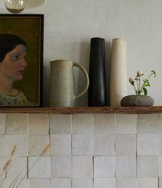 collecting: ceramics.