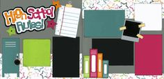 High School Rules! Girl Page Kit
