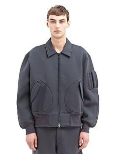 #Y3 #Mens #Neoprene #Jacket