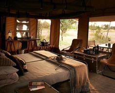 Camping, Serengeti Safari Style