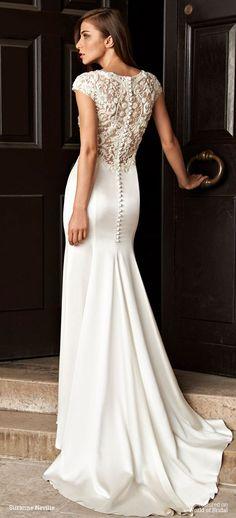 Suzanne Neville 2016 Wedding Dress