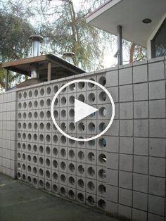 Stunning Breeze Block Wall Fences Ideas 15 Breeze Block Wall Breeze Blocks Block Wall