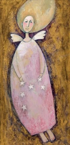 Angel with Stars