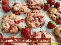You searched for biscuits shortcake aux fraises - Desserts With Biscuits, Cookie Desserts, Cookie Recipes, Dessert Recipes, Love Eat, Strawberry Recipes, Cookies Et Biscuits, Yummy Cookies, Food Inspiration