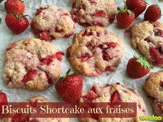 Une recette de biscuits aux fraises que vous devez absolument essayer! Un délice! Merci Martha :-)