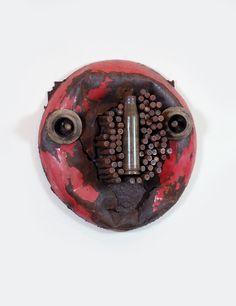 Gonçalo Mabunda - Sans titre Métal, armes recyclées 38 x 30 x 12 cm