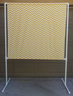 PHOTO BOOTH, CHEVRON Backdrop, Wedding Photo Booth, Corn Yellow and White Chevron, Photo Backdrop, Lowers for Kids, Photography Background on Etsy, $115.00