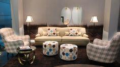 Dom edizioni -   #Luxury living #francois sofà #marie small armchair #ottoline small table #miky pouf   visit our new website www.domedizioni.com ti discover al our news!!!