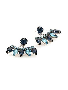 its a pity these are made with crystal....ugh otherwise they are PERRRRFECT. OK ANYWAYS THEYRE PERFECT LOL  DANNIJO Betson Crystal Ear Jacket