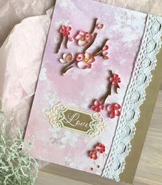Quilling Greeting Card  Paper Handmade Card  Floral от QllCard