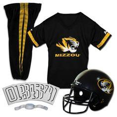 Buy Franklin Sports NCAA Missouri Tigers Uniform Set, Medium at Walmart.com