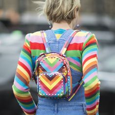 Spring showers mean rainbow brights. Here's the CHICEST way to get colorful: