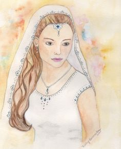 Queen Esther 8x10 Watercolor Print by kellybermudez on Etsy, $15.00