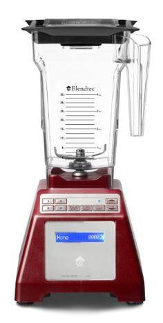 Blendtec HP3a Home Blender - Red Base - http://blenderforsmoothies.bgmao.com/blendtec-hp3a-home-blender-red-base