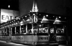 Chelsea's Empire Diner was a haven for quirky artistic types for 34 years until its closing in Chef Amanda Freitag is planning a still-unnamed restaurant in the space, which was briefly known as the Highliner after the Empire's closing. Eat At Joe's, 1990 Style, United Nations Headquarters, Vintage Diner, Nyc Restaurants, I Love Ny, Photo Archive, New Image, 1990s