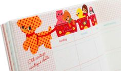 this diary is soooo cute, I want it !