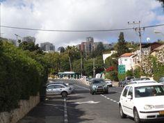 look from Natan Comoi street to Ramat Alon  photo mirjam Bruck -Cohen