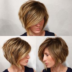 Added some super natural highlights to her dark hair and cleaned up her bob #shanecraighair #beachhair #blonde #shorthair #naturalhighlights