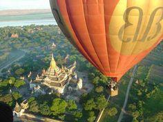 1  -  15 passeios de balão inesquecíveis pelo mundo. Bagan, Myanmar (Burma): Passeios de balão pelo mundo oferecem ao turista a oportunidade de ver paisagens maravilhosas, de um ângulo privilegiado. para desfrutar das melhores paisagens de Bagan, o melhor lugar é o céu. Os voos geralmente partem no pôr ou no nascer do sol e levam cerca de uma hora. Algumas operadoras turísticas incluem o passeio de balão em seus roteiros, mas o turista pode agendar diretamente com a empresa. Foto…