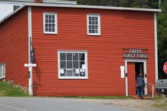 This is a fully operational living history museum. Drop by to see the blacksmiths in action and purchase some of his beautiful, skillfully made products such as coat racks, candleholders, letter openers and much, much more! Coat Racks, Candleholders, He's Beautiful, My Heritage, History Museum, Historical Society, Newfoundland, Blacksmithing, Places To See