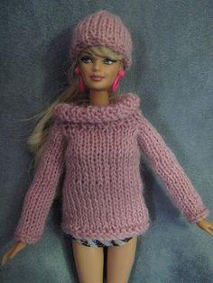 barbiepinkknitsweater