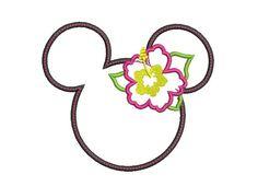 Girl Applique Design Summer Embroidery Design