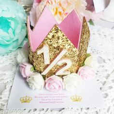 This beautiful 6 months old Princess Crown is shipping to a new little Princess..many more at our shop👑