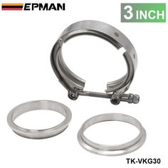 2013 Universal Upgraded 3 inch Auto Parts V-band clamp kit for Turbo, Exhaust pipes TK-VKG30