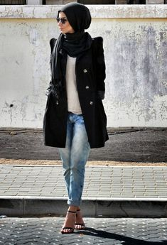 Casual-Wear-Hijab-Styles-with-Jeans-Trends-2016-2017-3