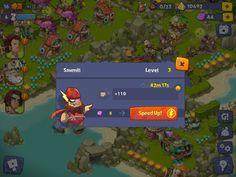 Adventure Era | Skip Structure Build | UI HUD User Interface Game Art GUI iOS Apps Games | www.girlvsgui.com