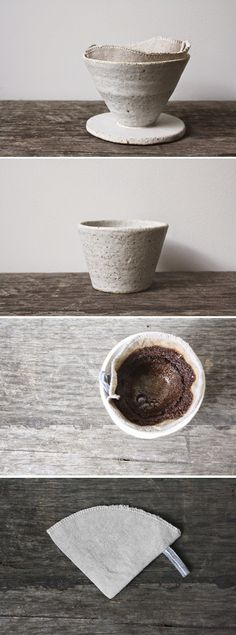 The pairing of coffee and ceramic art via HEIMELIG blog