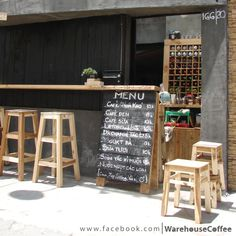 A little coffee shop in Saigon. You sit by the street and enjoy the best local drink you can find :) It's also a project from the Boyscout of Vietnam.