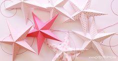Estrellas-de-papel-con-plantilla