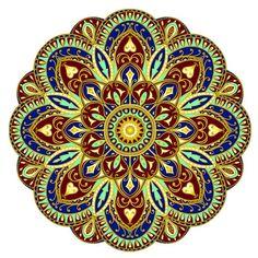 Sublime Earth Mandala - Pool Mosaic