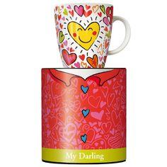 Ritzenhoff My Darling Koffiemok met oor 0,30ltr