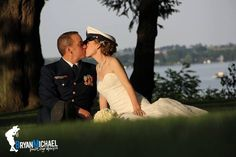 Favorite photo from our Coast Guard Wedding.