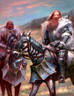 Knights of the White Wolf, dedicated warriors to Ulric, human god of winter, war, and wolves. These warriors are the embodiment of their gods wrath