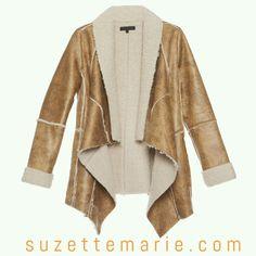 Soft warm jacket.