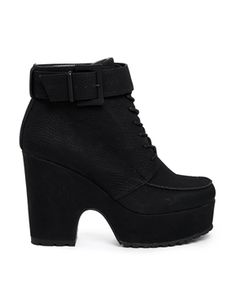 ASOS ECHO Lace Up Ankle Boots