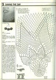 Home Decor Crochet Patterns Part 153 - Beautiful Crochet Patterns and Knitting Patterns Crochet Patterns Filet, Crochet Doily Diagram, Crochet Mandala Pattern, Doily Patterns, Crochet Chart, Crochet Designs, Free Crochet, Knitting Patterns, Crochet Dollies