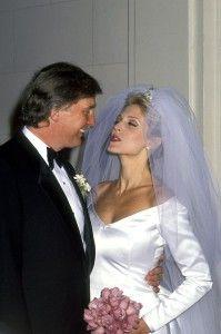 A stunning Dalton GA Bride...Marla Maples married Donald Trump