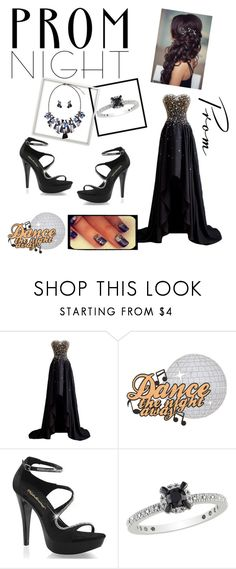 """""""Prom night"""" by emrah-sekic ❤ liked on Polyvore featuring Fabulicious, Amour, Prom, awesome, combination and black"""