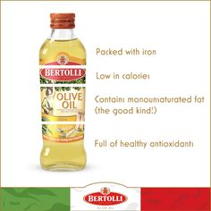 Don't fuss over the boring bits! Olive oil is healthier than you think! #bertolli #healthy #oliveoil