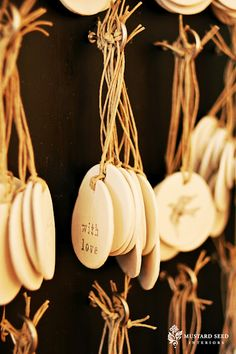 clay tags (not a DIY)