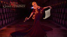 Artista transforma Game of Thrones em uma animação da Disney - Parte 2   Nerdivinas