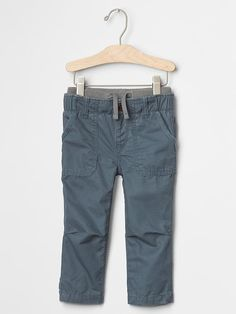 Pull-on fatigue pants
