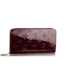 Pre-owned Louis Vuitton Wallet ($799) ❤ liked on Polyvore featuring bags, wallets, apparel & accessories, brown, handbags, wallets & cases, wallets & money clips, genuine leather wallet, coin wallet and monogrammed leather wallet